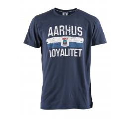 Navy AGF LOYAL TEE- BARN